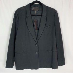 BCBGMaxAzria Men's Cotton Jersey Knit Blazer Sz L